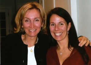 Rhonda and Caroline - Our co-chairs 2009!